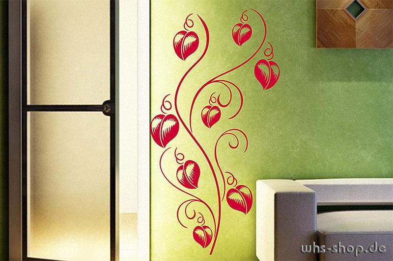 wandtattoos pflanzen whs werbetechnik n rnberg f rth. Black Bedroom Furniture Sets. Home Design Ideas