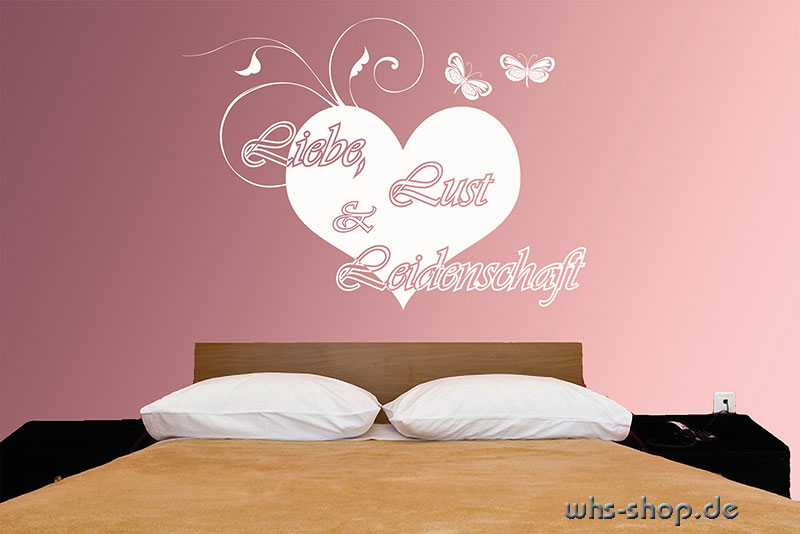 wandtattoos zitate worte spr che whs werbetechnik. Black Bedroom Furniture Sets. Home Design Ideas